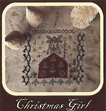 click here to view larger image of Christmas Girl (chart)