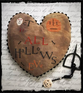 click here to view larger image of All Hallows Eve Heart (chart)