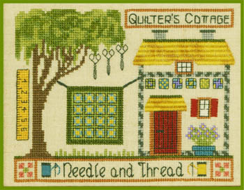 click here to view larger image of Quilter's Cottage (chart)