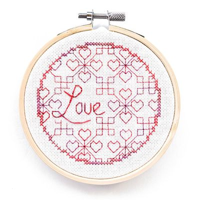 click here to view larger image of Blackwork Love  (chart)