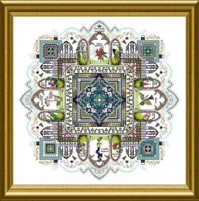 click here to view larger image of Garden Mandala  (chart)