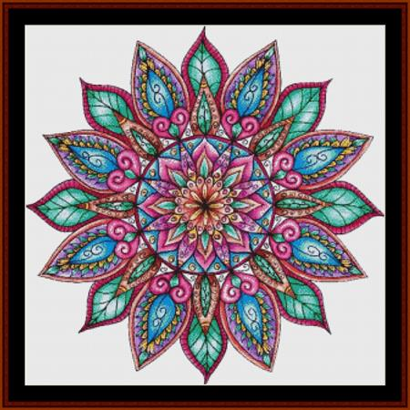 click here to view larger image of Mandala 8 (chart)