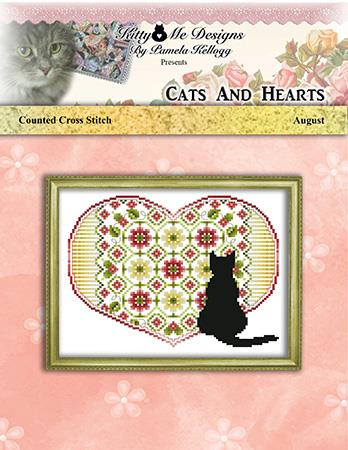 click here to view larger image of Cats and Hearts August (chart)