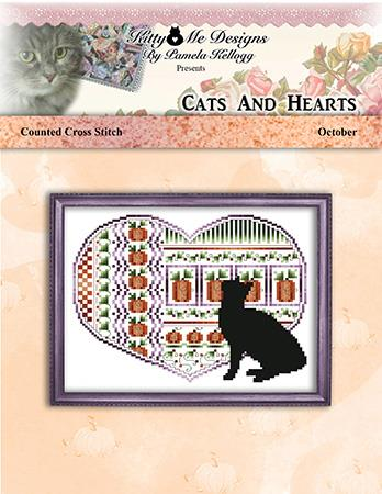 click here to view larger image of Cats and Hearts October (chart)