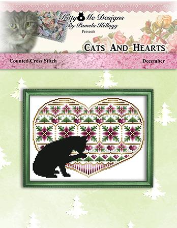 click here to view larger image of Cats and Hearts December (chart)