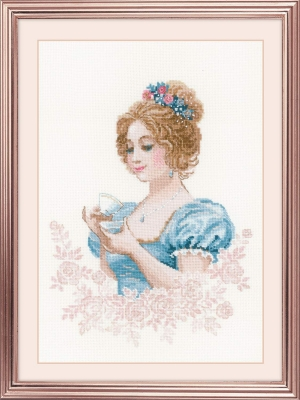 click here to view larger image of Afternoon Tea Club (counted cross stitch kit)