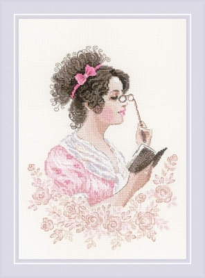 click here to view larger image of Book Club (counted cross stitch kit)