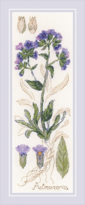 click here to view larger image of Pulmonia (counted cross stitch kit)