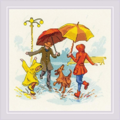 click here to view larger image of There's No Bad Weather (counted cross stitch kit)
