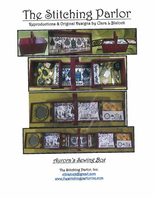 click here to view larger image of Aurora's Sewing Box (chart)