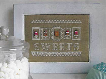 click here to view larger image of Sweets (w/buttons) (chart)