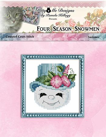 click here to view larger image of Four Season Snowmen Summer (chart)