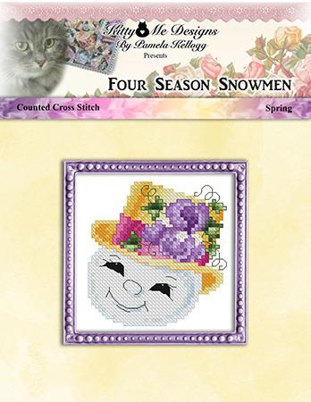 click here to view larger image of Four Season Snowmen Spring (chart)