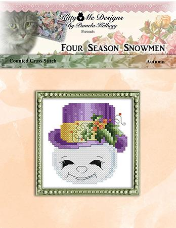 click here to view larger image of Four Season Snowmen Autumn (chart)