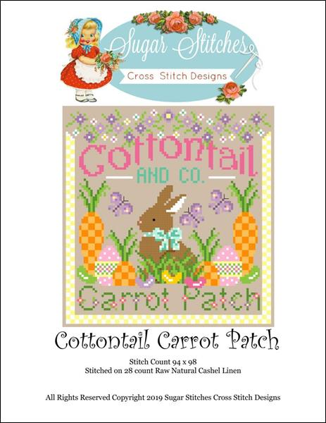 click here to view larger image of Cottontail Carrot Patch (chart)