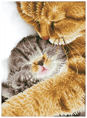 click here to view larger image of Tender Moment (Diamond Embroidery)