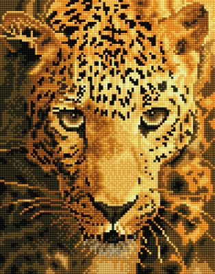 click here to view larger image of Jaguar Prowl (Diamond Embroidery)