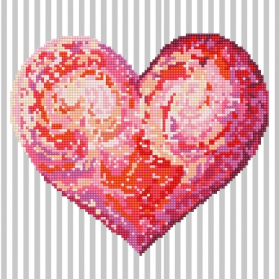 click here to view larger image of Heartfelt (Diamond Embroidery)