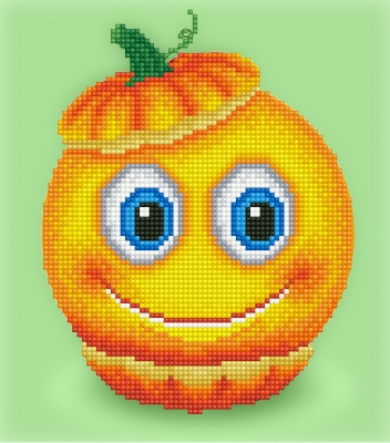 click here to view larger image of Sweet Pumpkin (Diamond Embroidery)