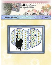 click here to view larger image of Cats and Hearts July (chart)
