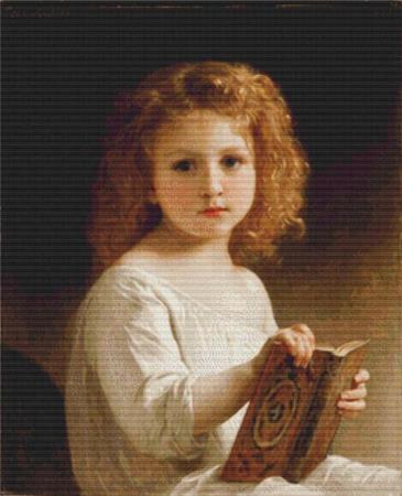 click here to view larger image of Story Book, The  (William-Adolphe Bouguereau) (chart)