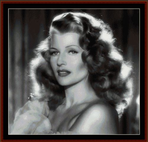click here to view larger image of Rita Hayworth (chart)