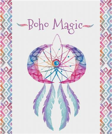 click here to view larger image of Boho Magic (chart)