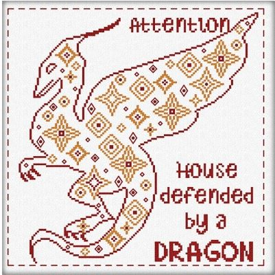 click here to view larger image of Attention Dragon (chart)