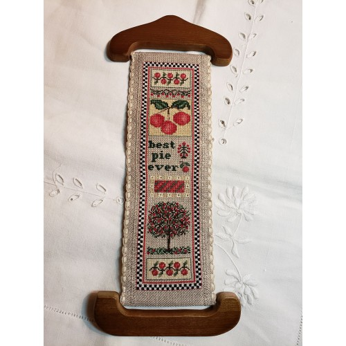 click here to view larger image of Cherries Fruits II Bellpull (counted cross stitch kit)