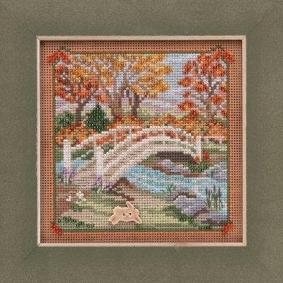 click here to view larger image of Foot Bridge (2019) (counted cross stitch kit)