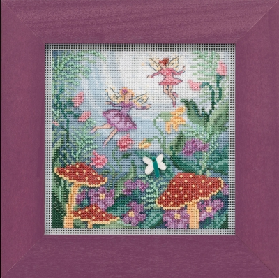 click here to view larger image of Fairy Garden (2019) (counted cross stitch kit)