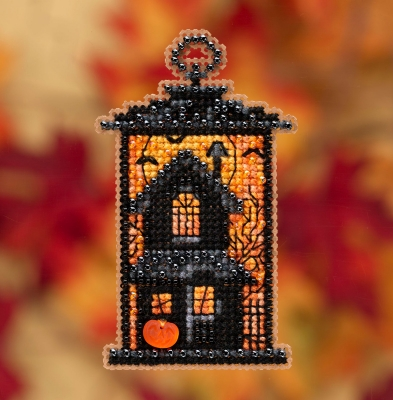 click here to view larger image of Moonstruck Manor (counted cross stitch kit)