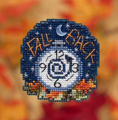Fall Back - click here for more details about counted cross stitch kit