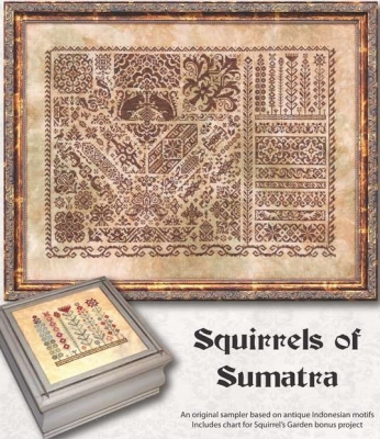 click here to view larger image of Squirrels of Sumatra (chart)