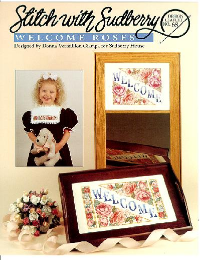 click here to view larger image of Welcome Roses (chart)