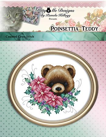 click here to view larger image of Poinsettia Teddy (chart)