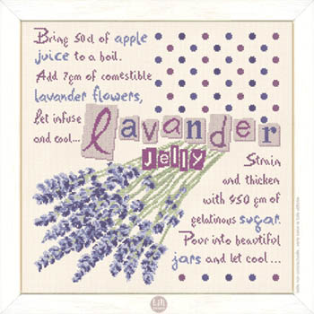 click here to view larger image of Lavender Jelly (chart)