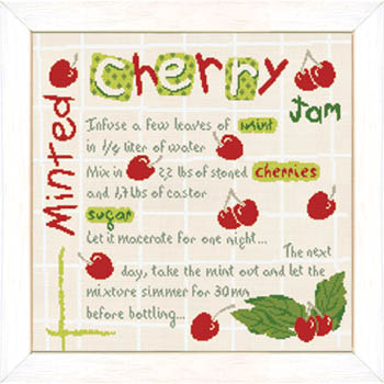 click here to view larger image of Minted Cherry Jam (chart)