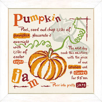 click here to view larger image of Pumpkin Jam (chart)