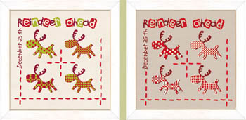 click here to view larger image of Reindeer Ahead  (chart)