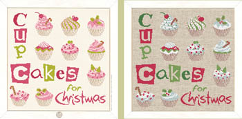 click here to view larger image of Cup Cake For Christmas (chart)