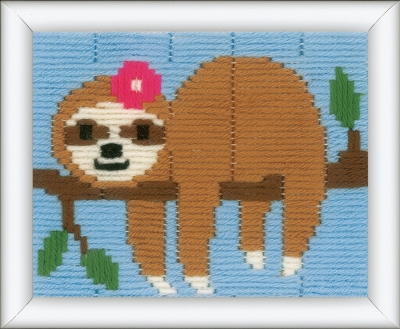 click here to view larger image of Sweet Sloth - Long Stitch (Long Stitch)
