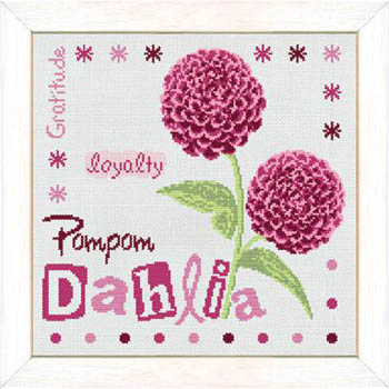 click here to view larger image of Pompom Dahlia (chart)