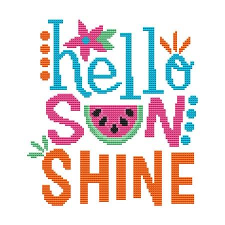 click here to view larger image of Hello Sunshine (chart)