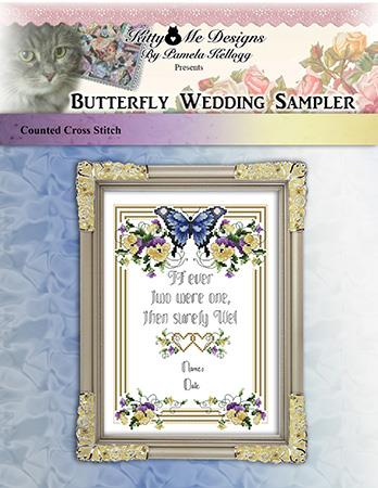 click here to view larger image of Butterfly Wedding Sampler (chart)