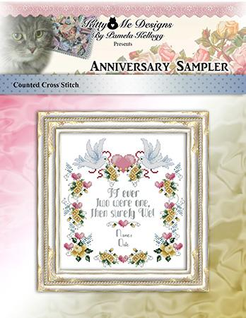 click here to view larger image of Anniversary Sampler (chart)