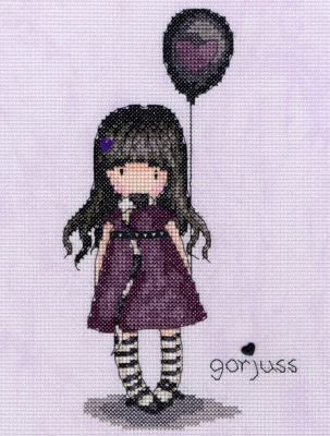 click here to view larger image of Balloon, The (counted cross stitch kit)