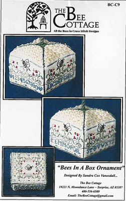 click here to view larger image of Bees In A Box Ornament (chart)
