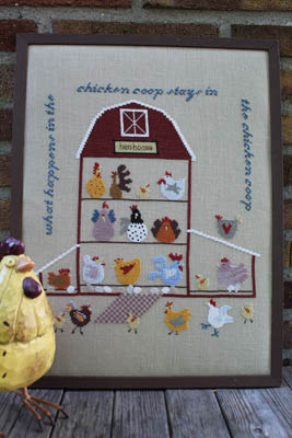 click here to view larger image of Chicken Coop (chart)