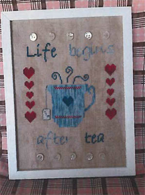 click here to view larger image of I Love Tea (chart)
